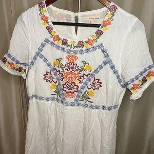 ROOLEE/ORANGE CREEK embroidered dress